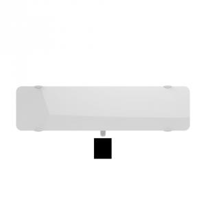 Radiateur à inertie sèche en verre - Plinthe - CAMPAVER ULTIME 3.0 Smart ECOcontrol® - 900 W - Lys blanc - Campa