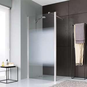 Paroi de douche ouverte Jazz Plus - paroi jazz+ mobile 25 vdd - Leda