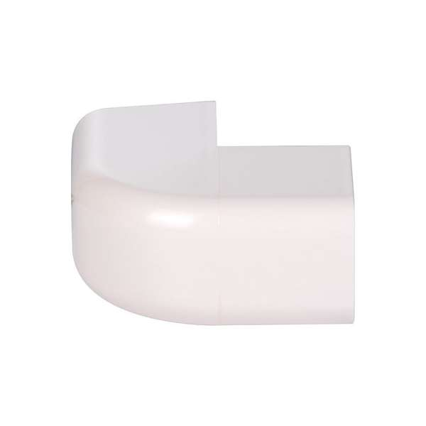 Angle extérieur plastique rigide beige - Largeur goulotte (mm) 25 angle (°) 90 - CBM