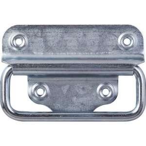 Poignée de malle Finition Zingué blanc - Hauteur (mm) 100 Largeur (mm) 70 - Bourg Industries