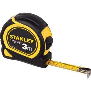 Mesure bi-matière Tylon - Longueur (m) 3 Largeur (mm) 12.7 - Stanley