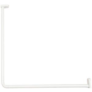 Kit d'angle blanc - 700 x 700 mm - Ø 25 mm - Bossini