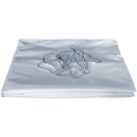 Rideaux de douche - PVC blanc - 2 x 1,4 m - Pellet ASC