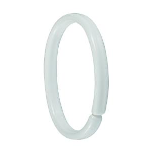 Anneau plastique blanc - Sachet de 12 - Sélection Cazabox