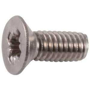 Vis métaux tête fraisé PZ4 inox - Viswood
