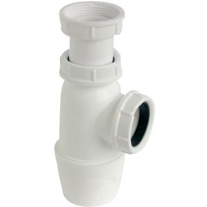 """Siphon d'évier à culot - 1""""1/2 - Ø 40 mm - Luxe - Sélection Cazabox"""