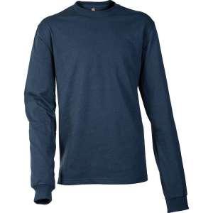 T-shirt bleu marine manches longues Logo EK231 - Carhartt