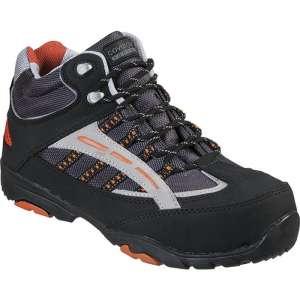 Chaussure de sécurité haute noire / orange - Coverguard footwear