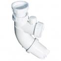 "Siphon de lavabo ABS blanc - 1""1/4 - Ø 32 mm - Sifoblic - Valentin"