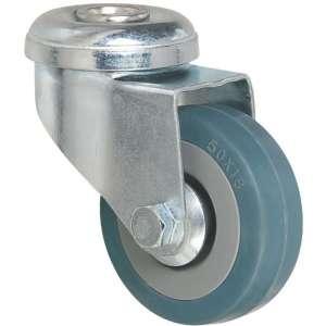 Roulette bleu à œil pivotant - Série S19 - Caujolle