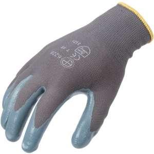 Gant de travail et de précision nitrile gris - La paire - Eurotechnique