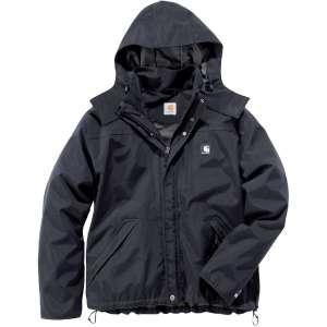 Parka noire - Shoreline Jacket - Carhartt