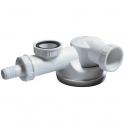 """Siphon d'évier avec prise M.A.L. - 1""""1/2 - Ø 40 mm - Wirquin Pro"""