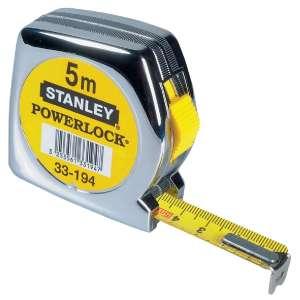 Mètre ruban plastique - Anti-chocs - Stanley