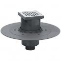 Siphon de douche à carreler - 150 x 150 mm - Sortie verticale - Venisio - Wirquin Pro