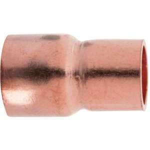 Raccord cuivre réduit à souder - Femelle - Ø 10 - 8 mm - Frabo