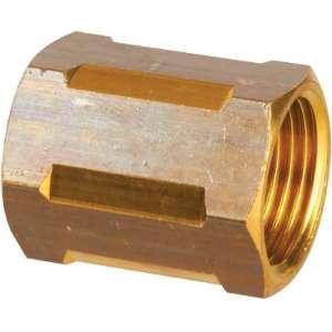 "Raccord laiton hexagonal à visser - F 3/8"" - Ravani"
