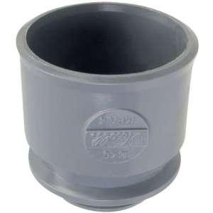 Adaptateur PVC gris droit - Ø 100 mm - Nicoll