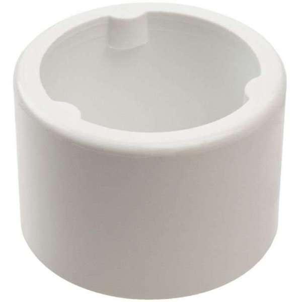 Raccord PVC blanc réduit - Mâle / femelle Ø 40 - 32 mm - Nicoll
