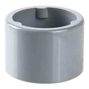 Raccord PVC gris réduit - Mâle / femelle Ø 40 - 32 mm - Nicoll