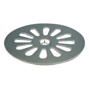 Grille - Ø 85 mm - 1 trou de fixation - Sandri