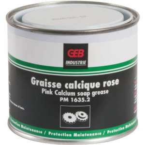 Graisse calcique rose - Geb
