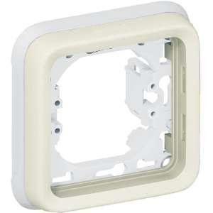 Support plaque composable - 1 poste - Plexo - Legrand
