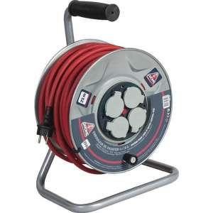 Enrouleur professionnel - moyeu fixe - 3G2,5 mm² - Dhome