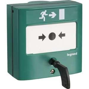 Déclencheur manuel standard pour issues de secours - Legrand