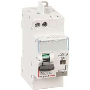 Disjoncteur différentiel DX³ 4500 - 6 kA courbe C - 2 modules - Connexion vis / auto - Legrand