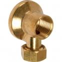 "Applique laiton brossé - F 3/8"" - Tube Ø 12 mm - Watts industries"
