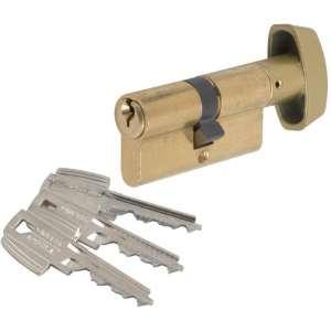 Cylindre à bouton laitonné - TE5 - Tesa