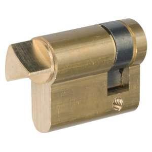 Demi cylindre pompier laitonné - Thirard
