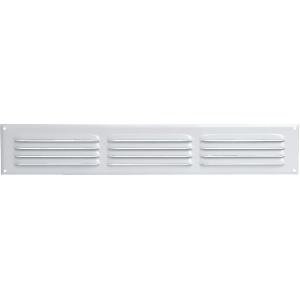 Grille rectangulaire en aluminium laquée - Anjos