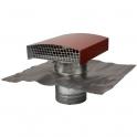 Sortie de toit finition tuile - Pour VMC double flux - Ø 160 mm - Anjos
