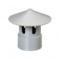Chapeau de toiture PVC - Ø 40 mm - Girpi