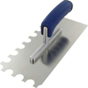 Peigne à colle lame acier inoxydable dentée sur deux côtés - Outibat