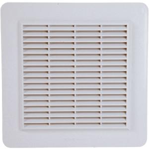 Grille de ventilation blanche - grillage anti insecte - Nicoll