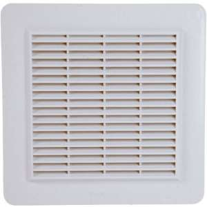 Grille de ventilation avec grille anti insectes - Nicoll