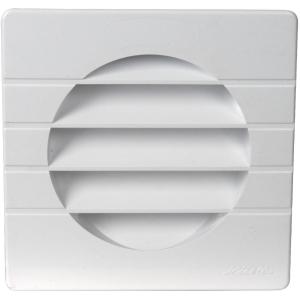 Grille carrée adaptable avec moustiquaire - pour tube PVC - Nicoll