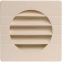Grille carrée avec moustiquaire - pour tube PVC - Nicoll