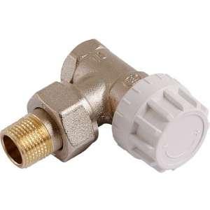 Robinet de radiateur équerre thermostatique - Senso - Comap