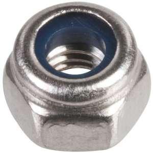 Écrou hexagonal indesserrable Inox - Ø 10 mm - Boîte de 100 - Acton