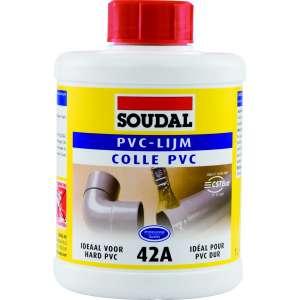 Colle PVC - 250 ml - 42A - Soudal