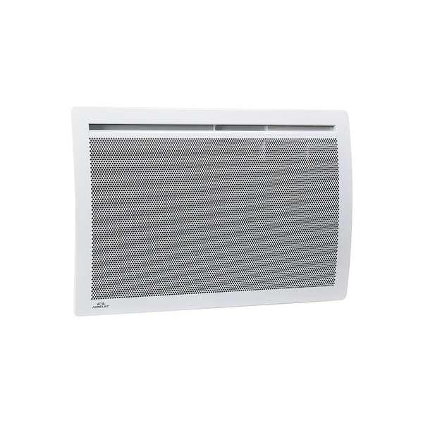 Radiateur électrique - panneau rayonnant - Horizontal - AIXANCE Digital - 1000 W - Airelec