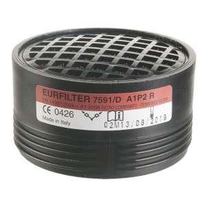 Galette filtrante - vapeurs organiques EN141 - Vendu par 2 - Sup air