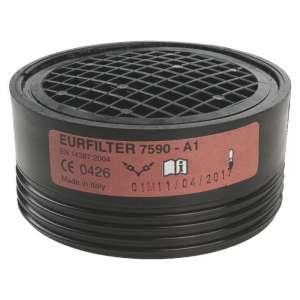 Galette filtrante - vapeurs organiques EN14387 - Vendu par 2 - Sup air