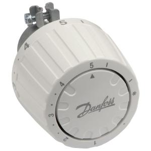 Tête thermostatique de radiateur - Ø 26 mm - bulbe incorporé - RA/V - Danfoss