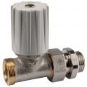 Robinet de radiateur droit simple mâle - RBM