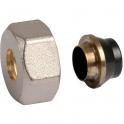 Raccord cuivre droit - Femelle Pas RBM - Ø 12 mm - Tube cuivre recuit - RBM